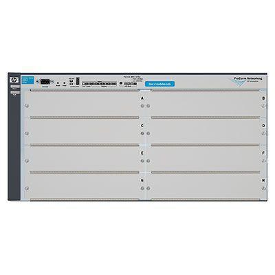Hewlett packard enterprise netwerkchassis: 4208vl - Grijs