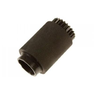 Hp printing equipment spare part: Pickup roller assembly - Has attached Black plastic gear Refurbished