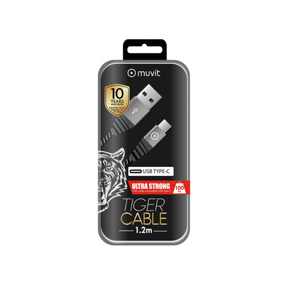 Muvit TGUSC0002 USB kabel - Grijs