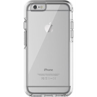 Otterbox mobile phone case: Symmetry Series Clear Case, iPhone 6/6s, Clear Confidence, Synthetic rubber/Polycarbonate - .....