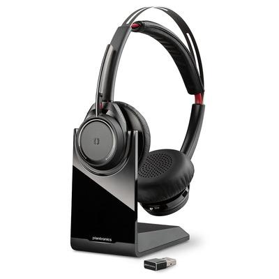 POLY VOYAGER Focus UC B825-M Headset - Zwart