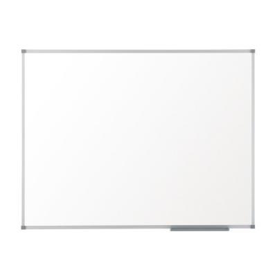 Nobo whiteboard: Basic Whiteboard (2400x1200) van melamine met basic lijst, niet-magnetisch - Wit