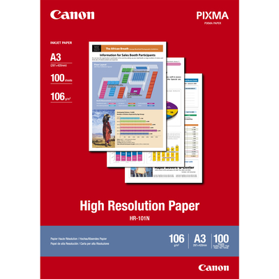 Canon papier: HR-101N A3 High Resolution Paper