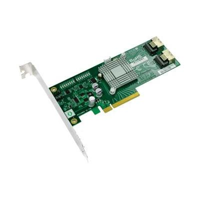 Supermicro AOC-SAS2LP-MV8, 8-ch SAS/SATA adapter w/600MB/s p/ch, PCI-E x8 Interfaceadapter - Groen