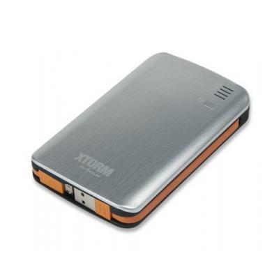 Xtorm powerbank: 7300 - Zwart, Grijs, Oranje