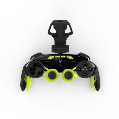 Mad catz game controller: L.Y.N.X. 3 - Zwart, Groen