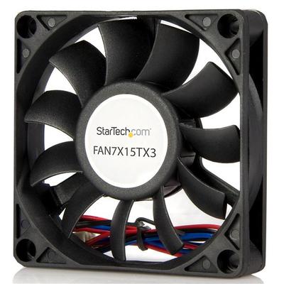 StarTech.com 70x15mm Ventilator voor Computerbehuizing met Kogellagers en TX3 Connector Hardware koeling - .....