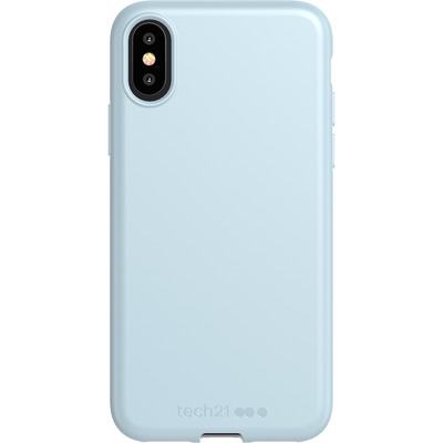 Antimicrobial Backcover iPhone Xs / X - Let Off Steam - Grijs / Grey Mobile phone case