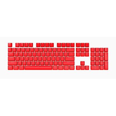 Corsair PBT DOUBLE-SHOT PRO Keycap Mod Kit — ORIGIN Red (NA) Toetsenbord accessoire - Rood