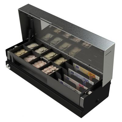 APG Cash Drawer 460 Flip Lid Cash Drawer - Zwart