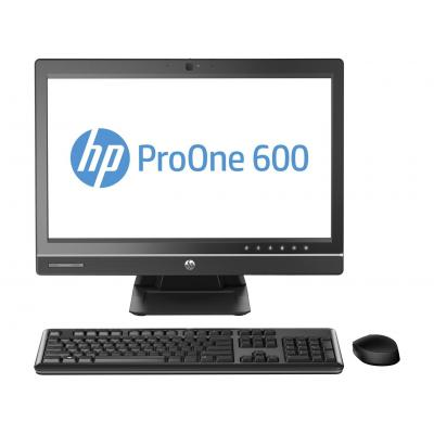 Hp all-in-one pc: ProOne 600 G1 - Intel Core i3 - Zilver