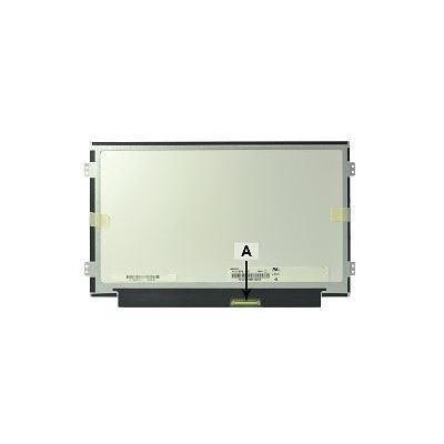 """2-power notebook reserve-onderdeel: 25.654 cm (10.1 """") 1366x768 HD+ LED Matte - Zwart, Wit"""