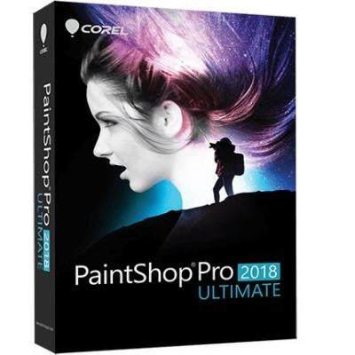 Corel grafische software: PaintShop Pro 2018 Ultimate