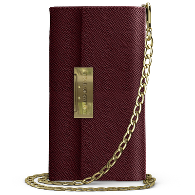 IDeal of Sweden Kensington Clutch Samsung Galaxy S10 - Rood - Rood / Red Mobile phone case