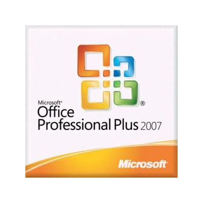Microsoft software suite: Office Professional Plus 2007, Sngl, L/SA, OLV-NL, 3Y Acq Y1, AP