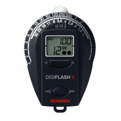Gossen lichtmeter: Digisix 2 - Zwart