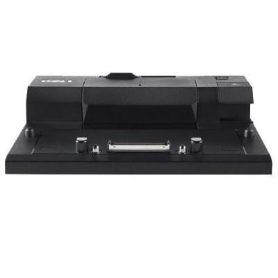 Dell docking station: Poortreplicator: EURO2 Simple E-poortreplicator met USB 3.0, wisselstroomadapter van 130 W zonder .....