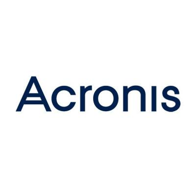 Acronis Cloud Storage Opslag
