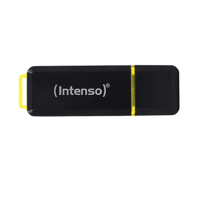 Intenso High Speed Line USB flash drive - Zwart, Geel