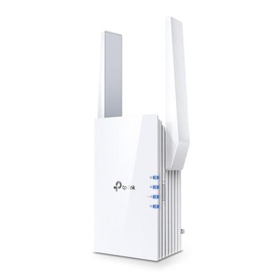TP-LINK Gigabit Ethernet RJ-45, Wi-Fi 2.4GHz / 5GHz, 10W, 74.0×46×124.8 mm Netwerk verlenger - Wit