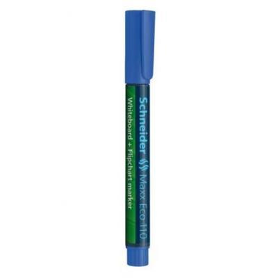 Schneider markeerstift: Maxx Eco 110 - Zwart, Blauw
