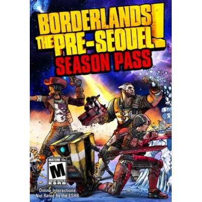 2k game: Borderlands: The Pre-Sequel Season Pass