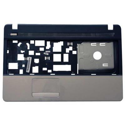 Acer notebook reserve-onderdeel: Top Case, Silver - Zwart, Zilver