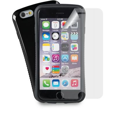 Azuri AZCOVGRIPIPH6-BLK mobile phone case