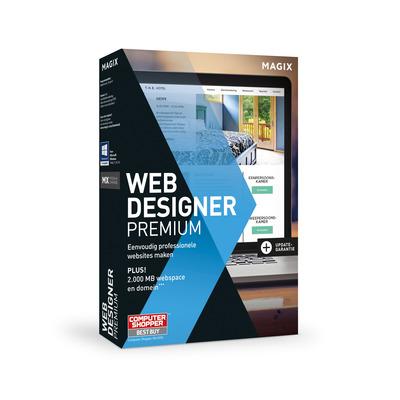 Magix grafische software: Magix, Web Designer 12 Premium