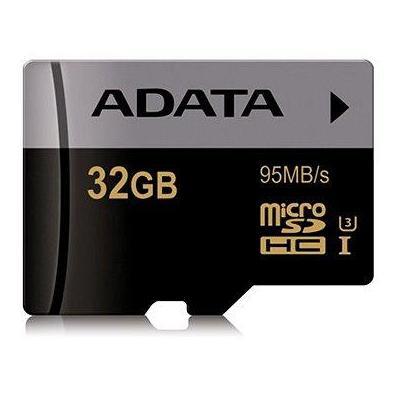 Adata flashgeheugen: 32GB, SDA 3.0, 95MB/s read , 2.7~3.6V - Zwart, Grijs