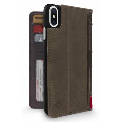 TwelveSouth BookBook Mobile phone case - Bruin