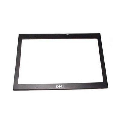 Dell notebook reserve-onderdeel: LCD Bezel, Black - Zwart