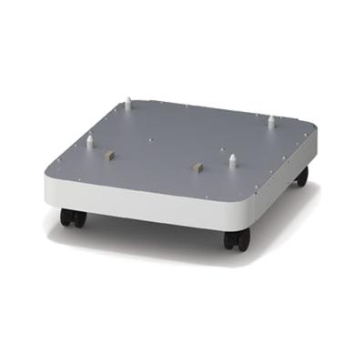 OKI Basis met zwenkwieltjes Printerkast - Zilver, Wit