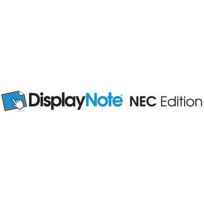 Nec software: DisplayNote, 10u