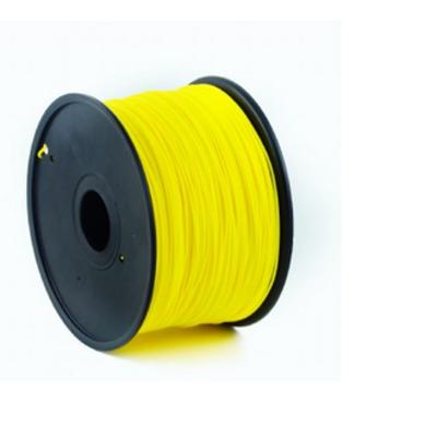 Gembird ABS plastic filament voor 3D printers, 1.75 mm diameter, geel 3D printing material