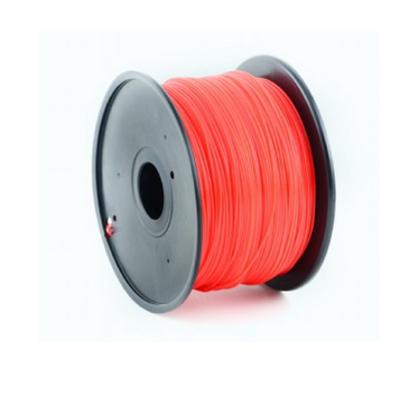 Gembird ABS plastic filament voor 3D printers, 1.75 mm diameter, rood 3D printing material