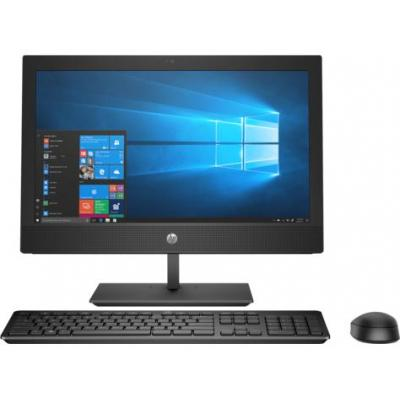 Hp all-in-one pc: ProOne 400 G4 - Zwart