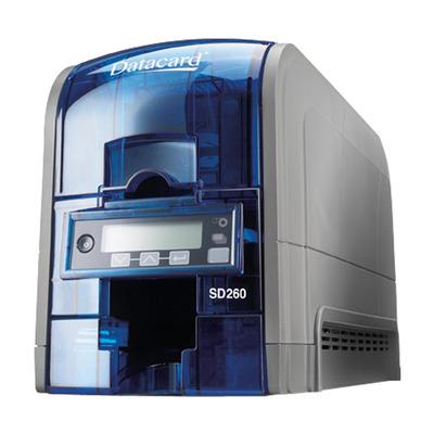 Datacard plastic kaart printer: SD260 - Blauw, Grijs