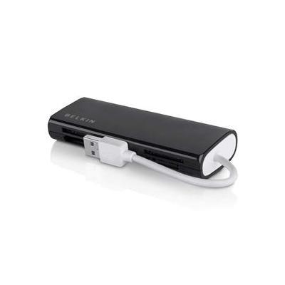 Belkin geheugenkaartlezer: Universal Media Reader, USB 2.0 - Zwart