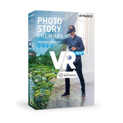 Magix , Photostory Premium VR grafische software