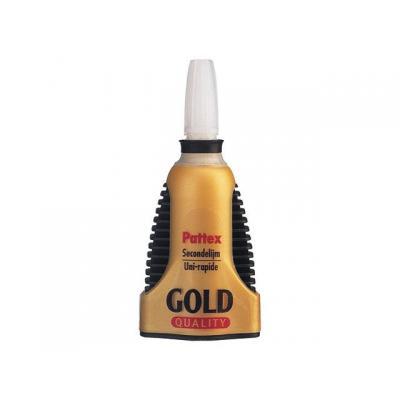 Pattex kantoorartikelen: Secondenlijm gold/flacon 3gr