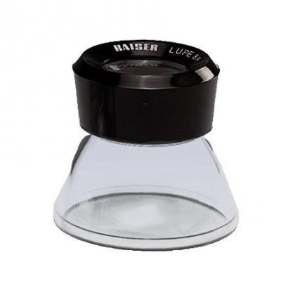 Kaiser fototechnik loep: 2334, Base Magnifier, 8x