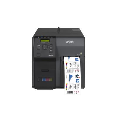 Epson ColorWorks C7500G Labelprinter - Zwart
