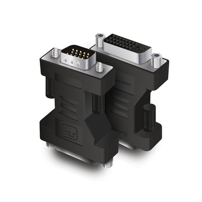 ALOGIC Premium VGA (M) to DVI (F) Adapter - Male to Female - Retail Blister Packaging Kabel adapter - Zwart