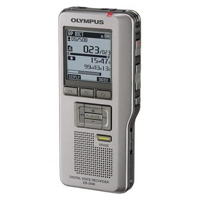 Olympus voice recorder: DS-2500 - Zilver