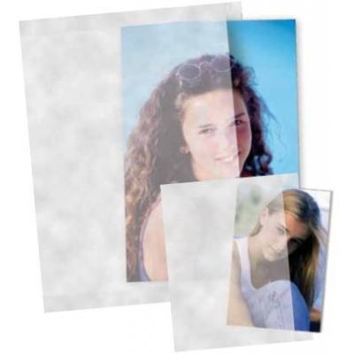 Daiber envelop: 43007 - Zilver, Transparant, Wit