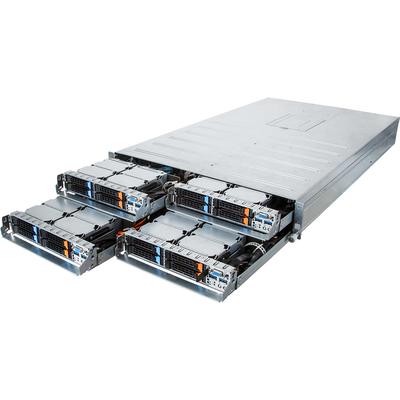 Gigabyte H27N-H70 Server barebone - Zwart,Grijs