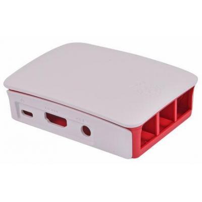 Raspberry Pi New Official 3 Model B, 2 B, B+ Development Board Case, red/white