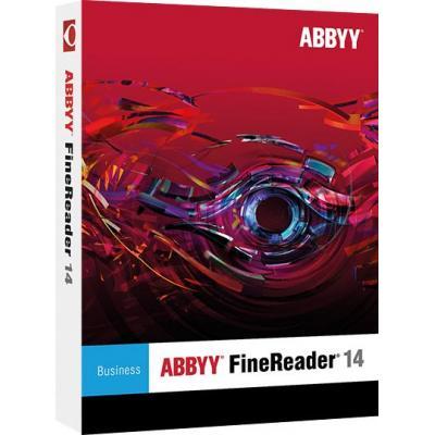 Abbyy software licentie: FineReader Standard 14