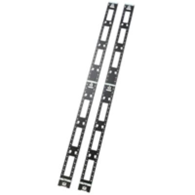 APC Vertical Cable Oganizer, NetShelter Rack toebehoren - Zwart